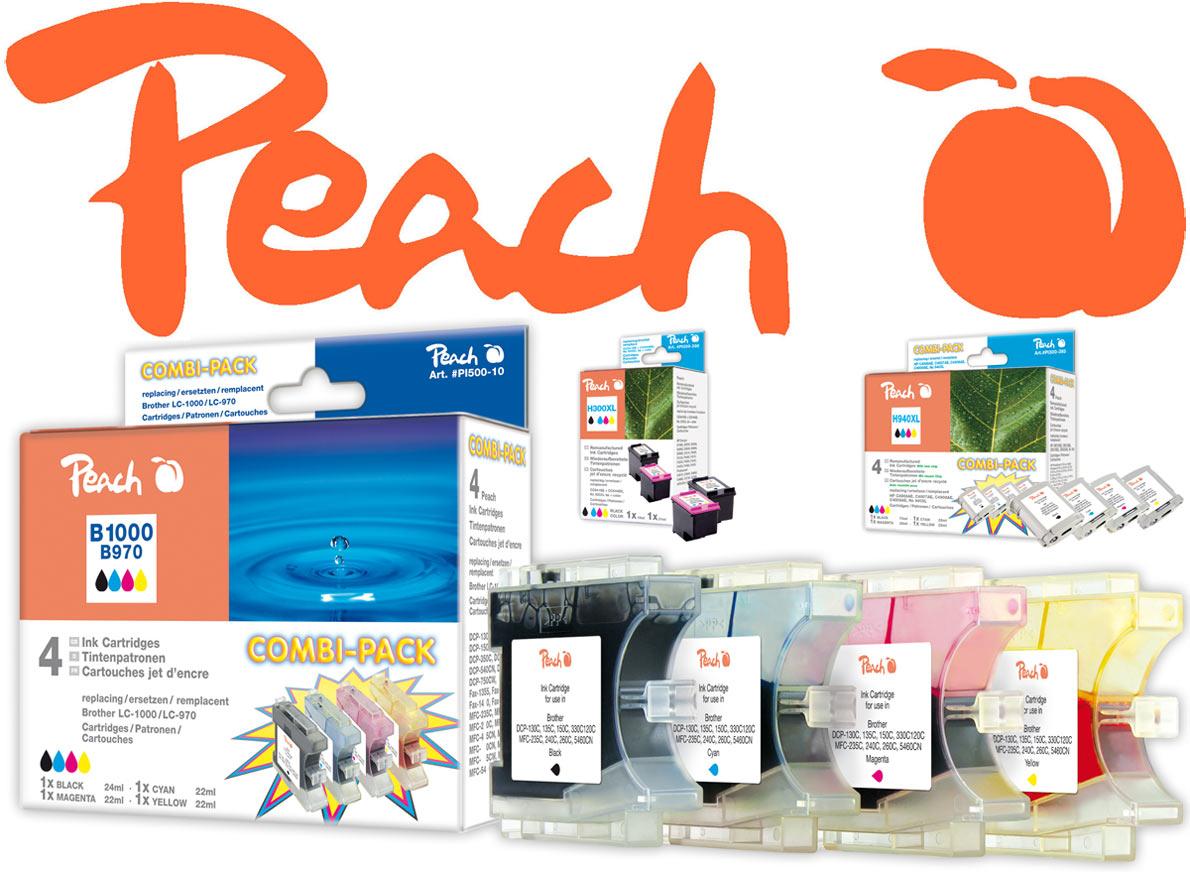 Peach Tintenpatronen